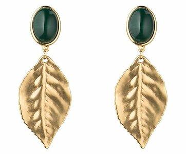 Goldblatt - dunkelgrün