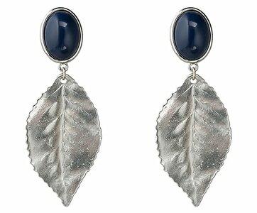 Silberblatt - marineblau