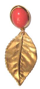 Goldblatt - matt - hellkoralle