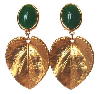Herz  Blatt grün