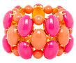Armband-3-reihig--Koralin-Pink